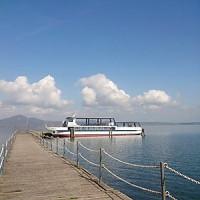 湖_遊覧船